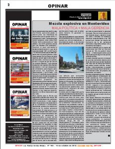Así está Montevideo – Mala Política + Mala Gerencia