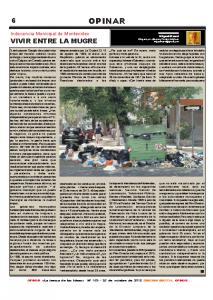 Indecencia Municipal de Montevideo – Vivir entre la mugre