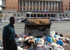MONTEVIDEO A LA DERIVA (entre la basura)