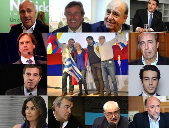 Resultado de imagen para candidatos del frente amplio